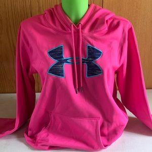 Pink Under Armour Hoodie